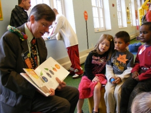 Reading to the Children in LKS