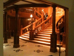 Titanic's Grand Staircase
